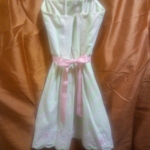 Lilly Pulitzer Dresses - Vintage Lily Pulitzer Strapless Dress